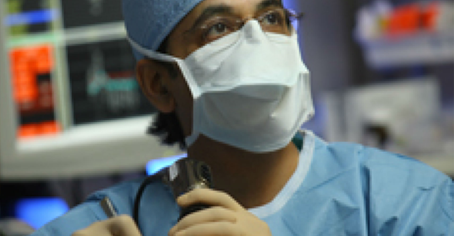 Doctor Performing Nasal Surgery